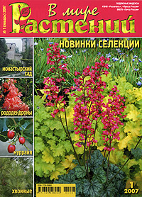 В Мире Растений, январь 2007. The World of Plants, January 2007.